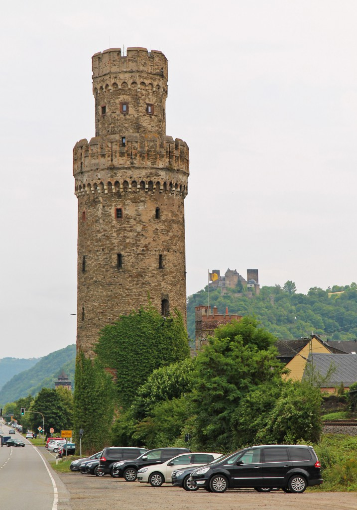 The medieval Ox Tower of Oberwesel.