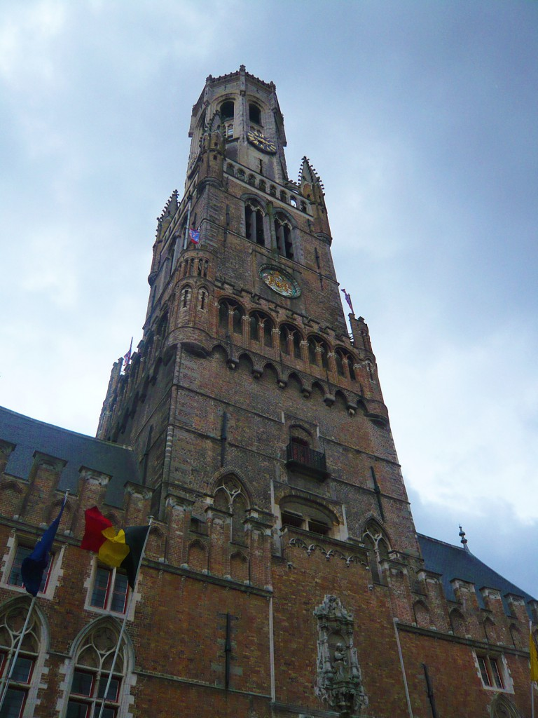 The belfry of Bruges is huge!