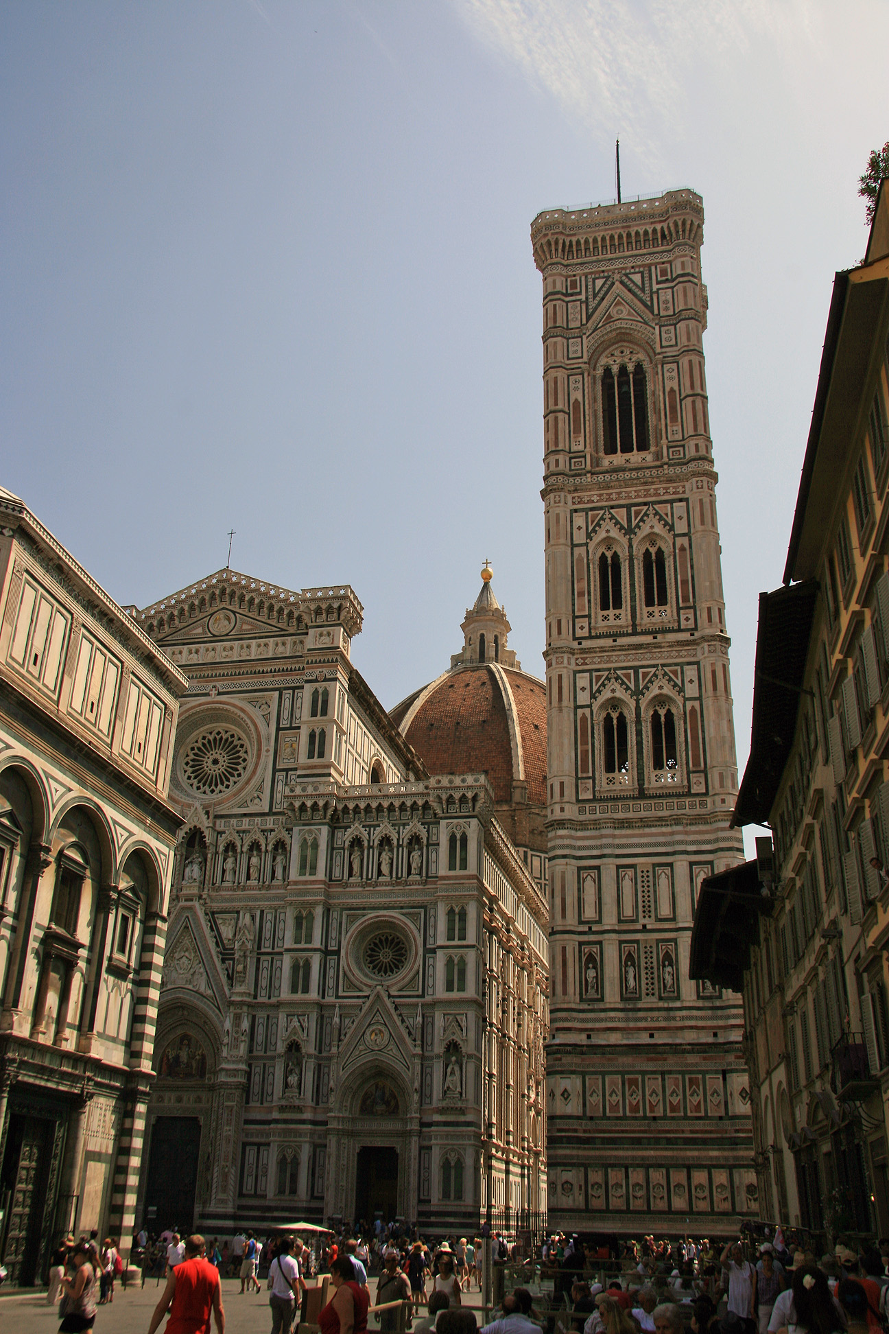Cathedral complex on the Piazza del Duomo.