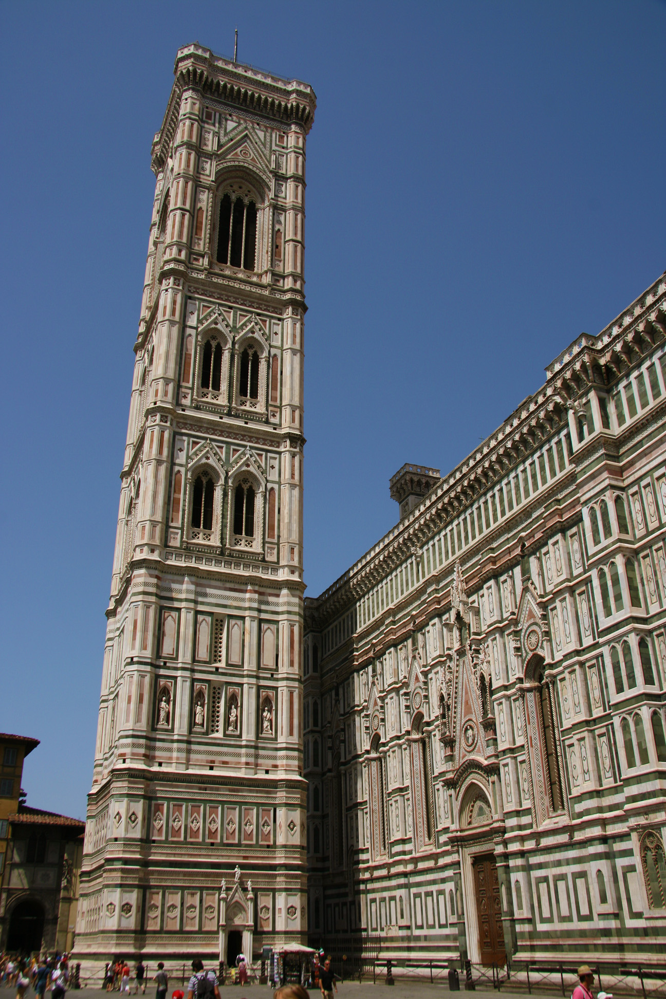 The campanile, an idea of Giotto.