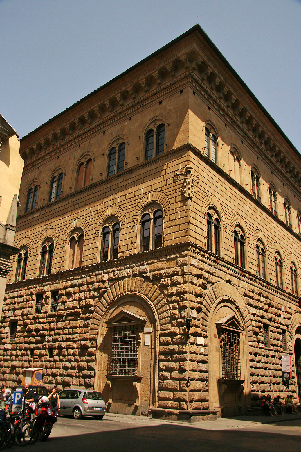 The Palazzo Medici Riccardi, the renaissance palace of the influential Medici family in Firenze.