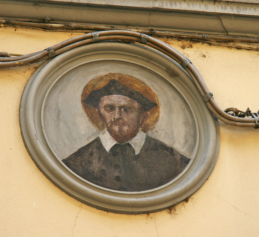 Ancient wall art from the streets of Firenze.