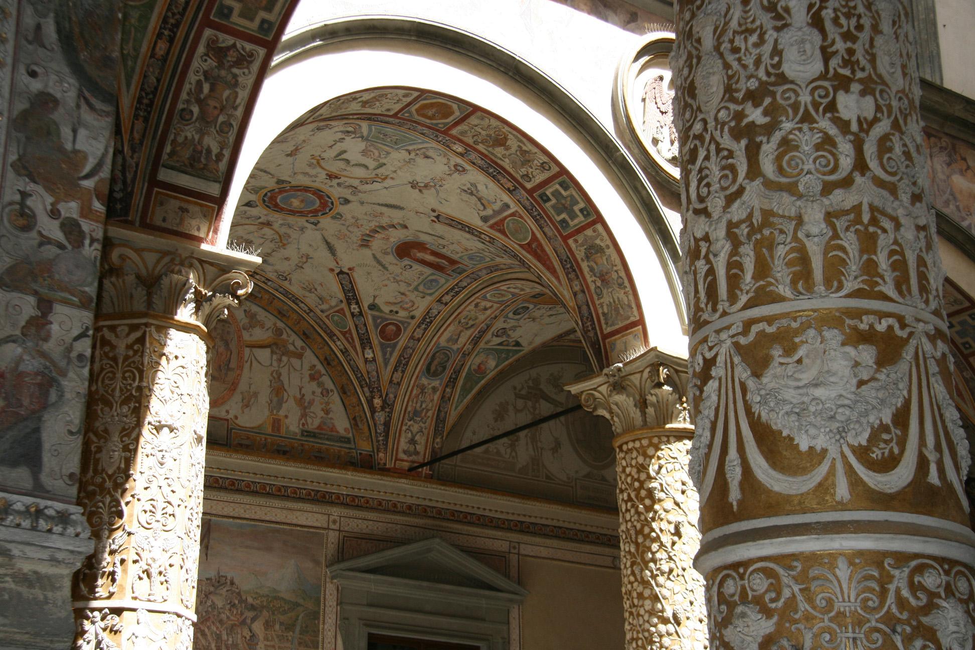 Inside the Palazzo Vecchio.