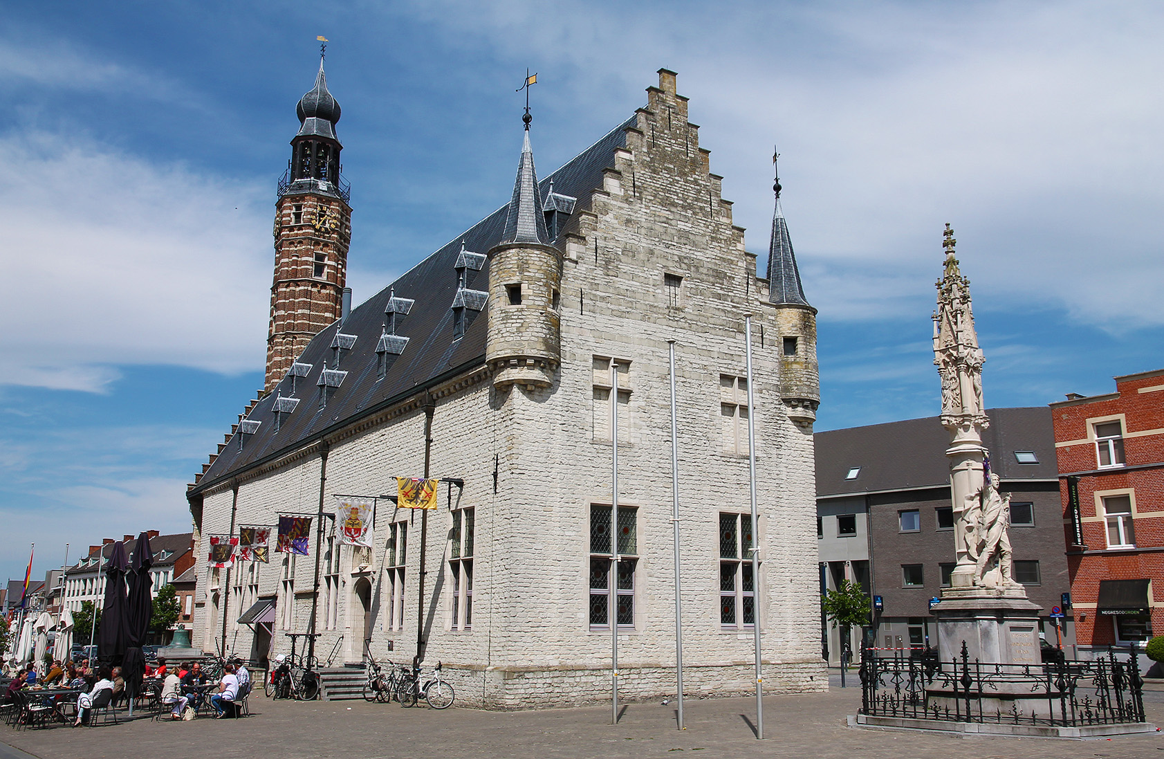 The belfry of Herentals, in the city centre.