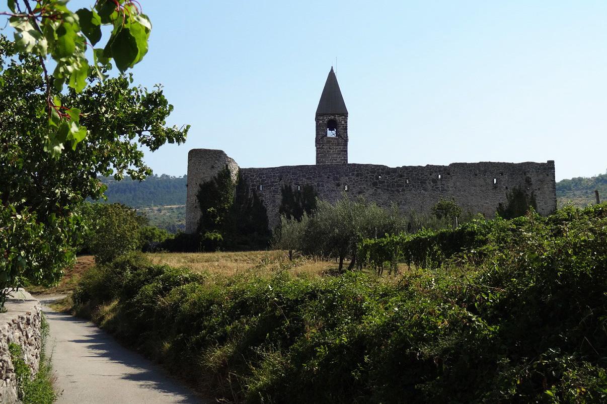 The Church of The Holy Trinity in Hrastovlje.