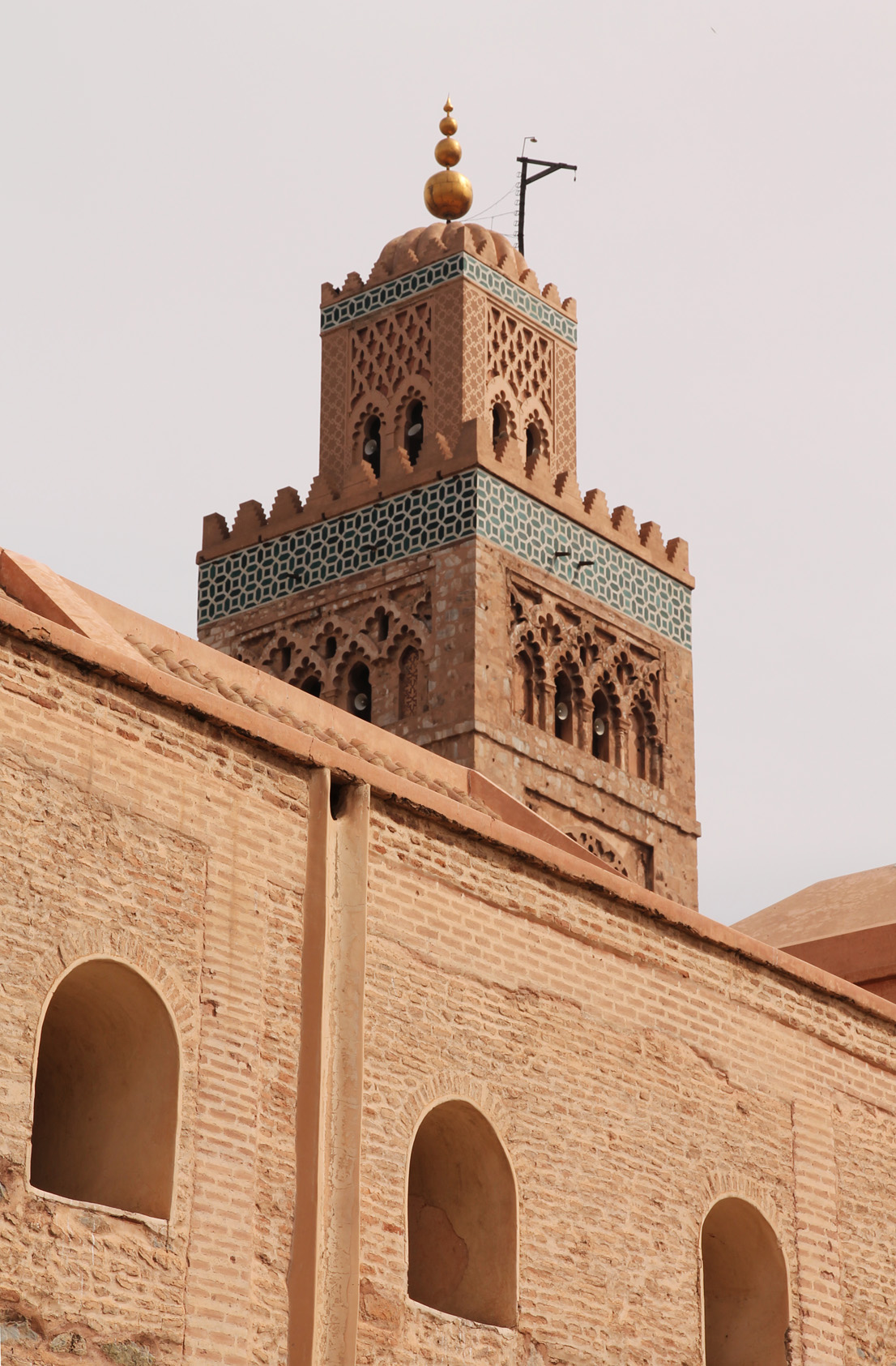 The Koutoubia Mosque.