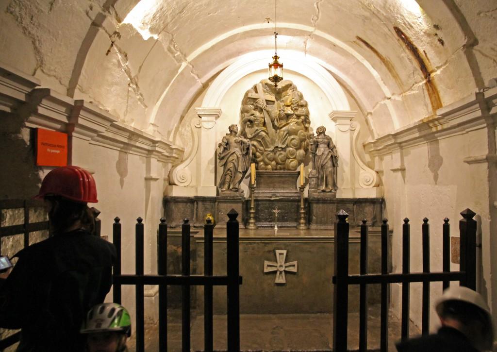 The Holy Trinity Chapel.