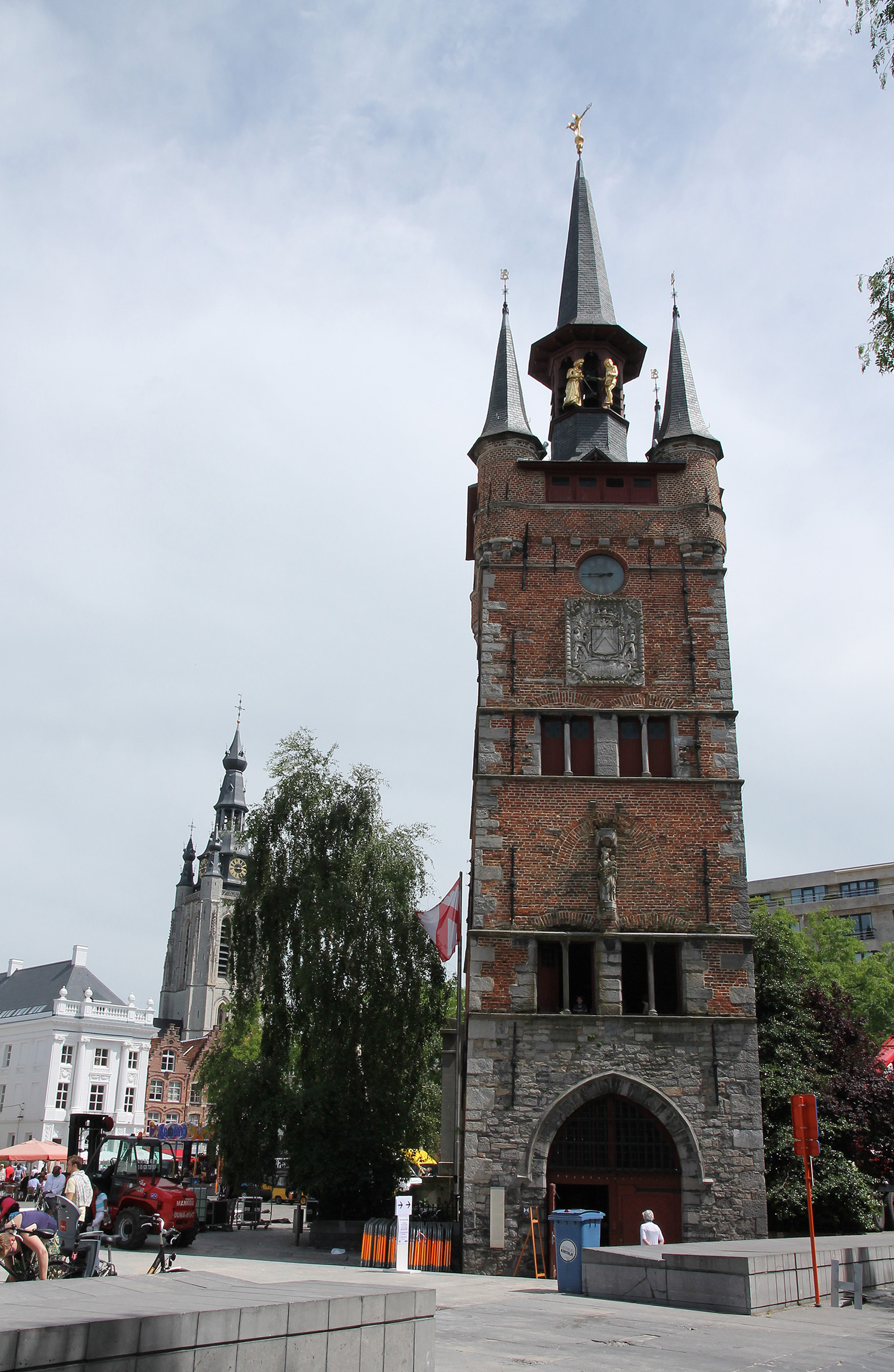 The belfry of Kortrijk.