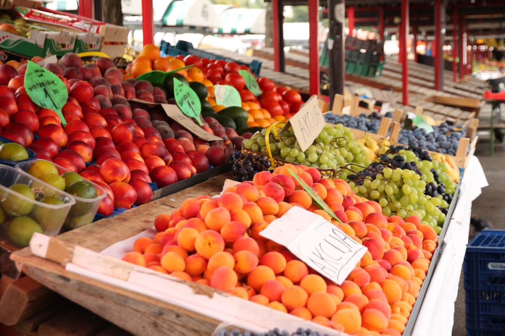 Local produce...