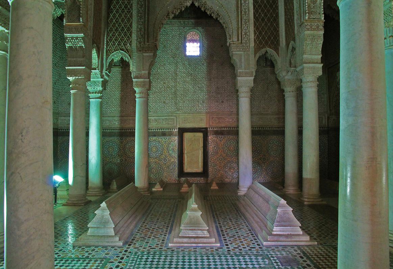 Hall of the 12 pillars.