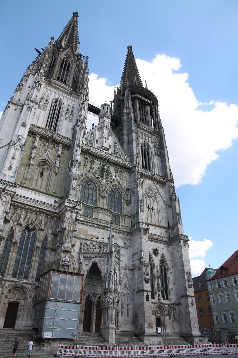 Regensburger Dom. Quite impressive...