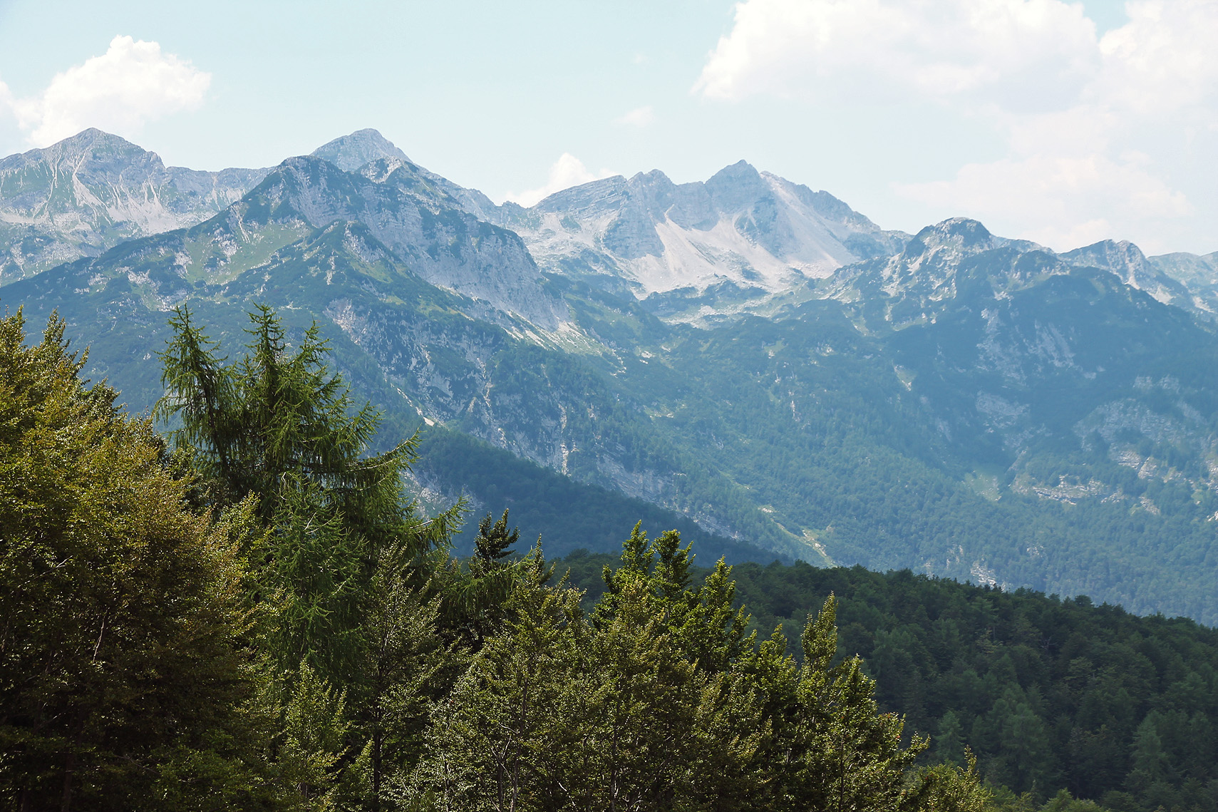 The Julian Alps.