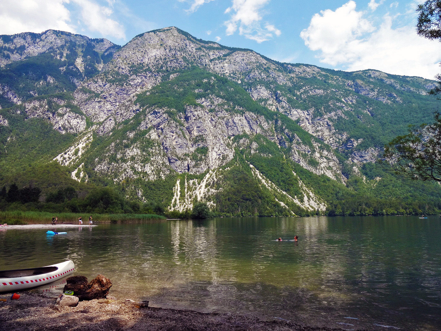 Lake Bohinj is postcard material...!