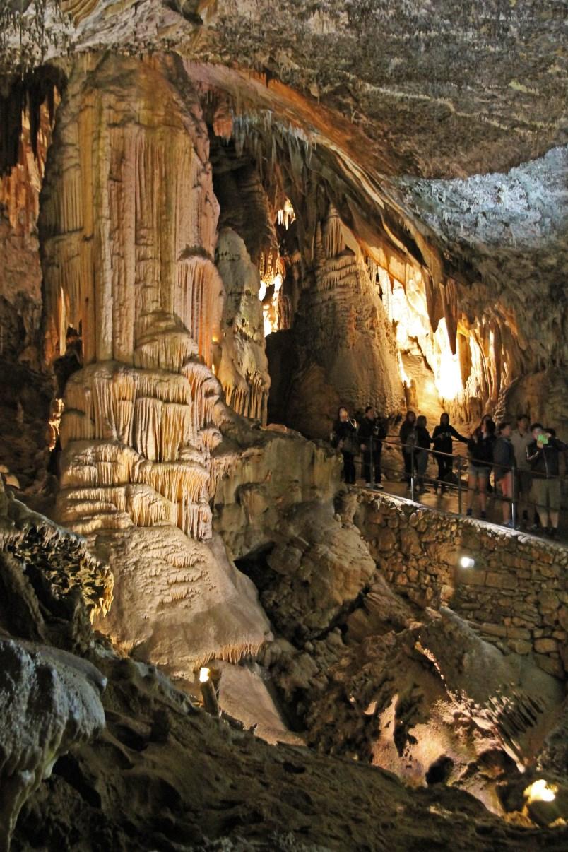A giant stalactite.