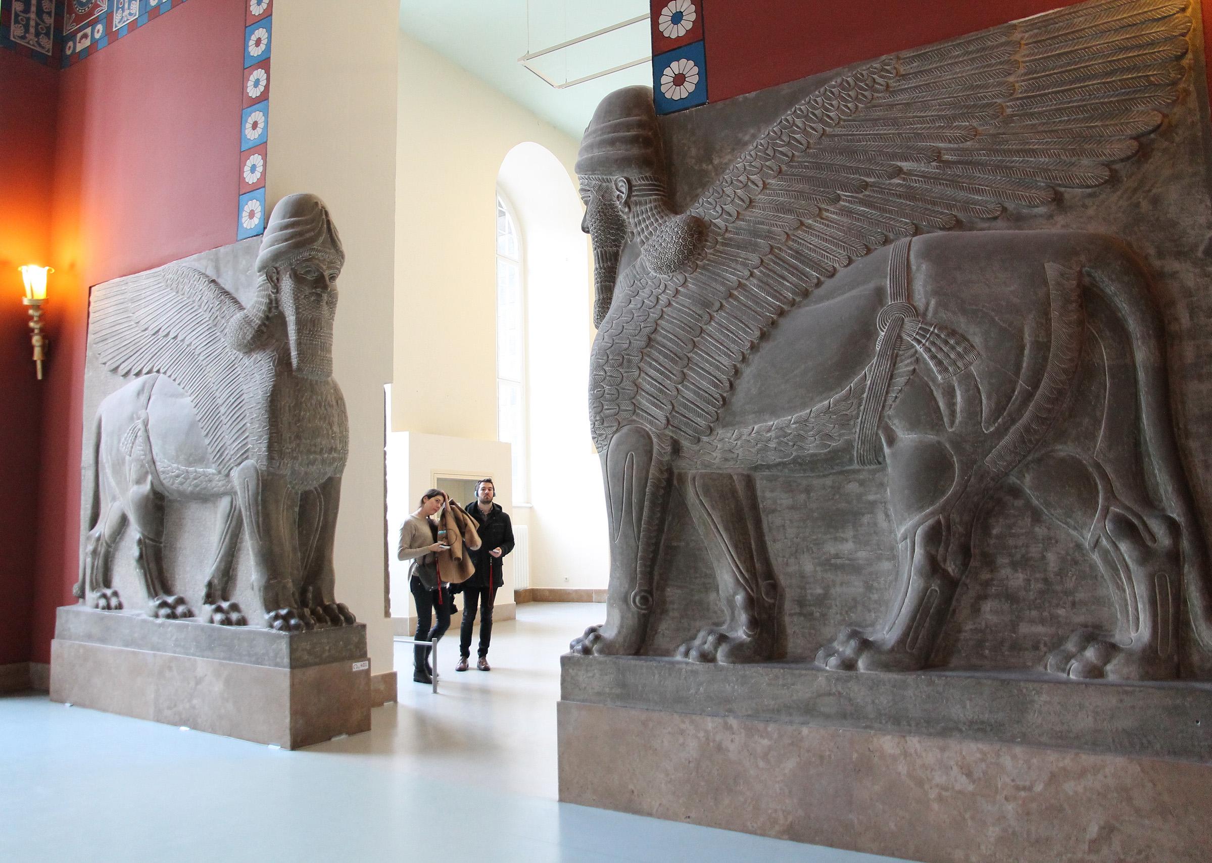 Persian Lamassu in the Pergamon Museum (Berlin)