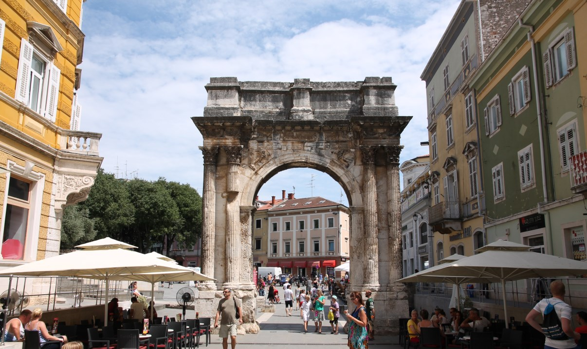 Triumphal Arch of the Sergi.