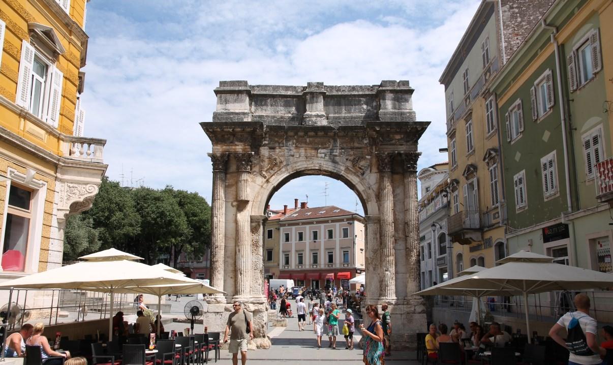 Triumphal Arch of the Sergi.