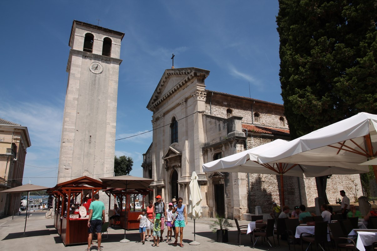 The cathedral of Pula.