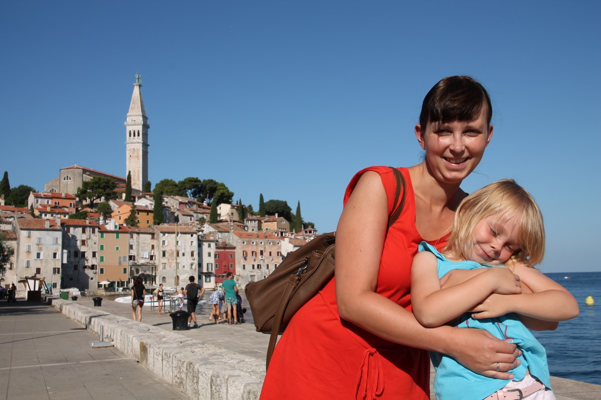 Having fun @ Rovinj.