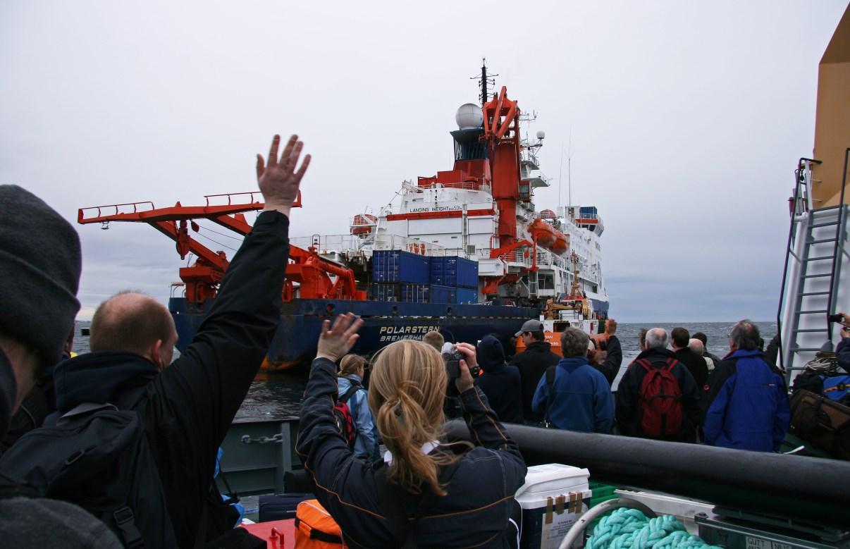 Bye bye Polarstern!