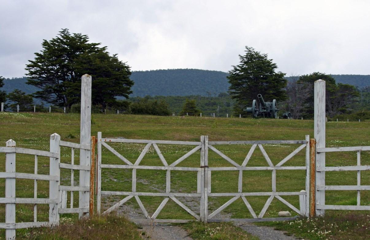 Gate of Fuerte Bulnes.