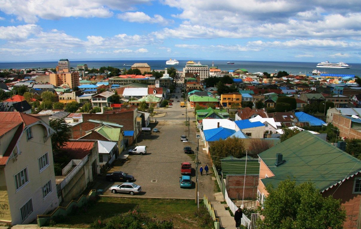 Colourful Punta Arenas.