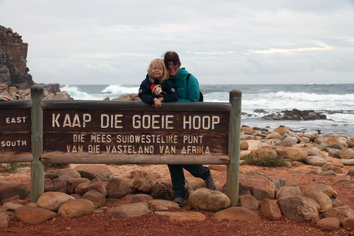 At Cape of Good Hope.