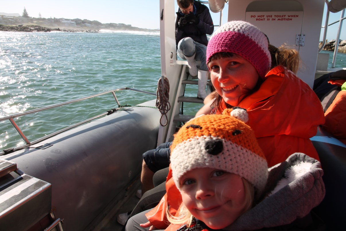 Excited to go on a whale-watching adventure!