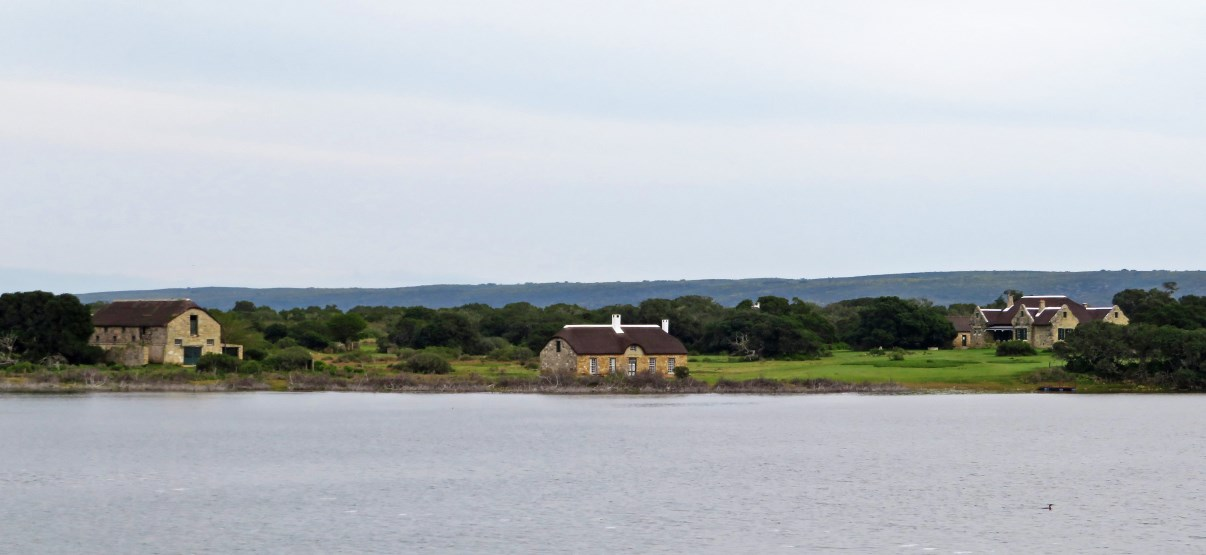 "The ""Melkkamer"" houses on the opposite side of the Vlei."