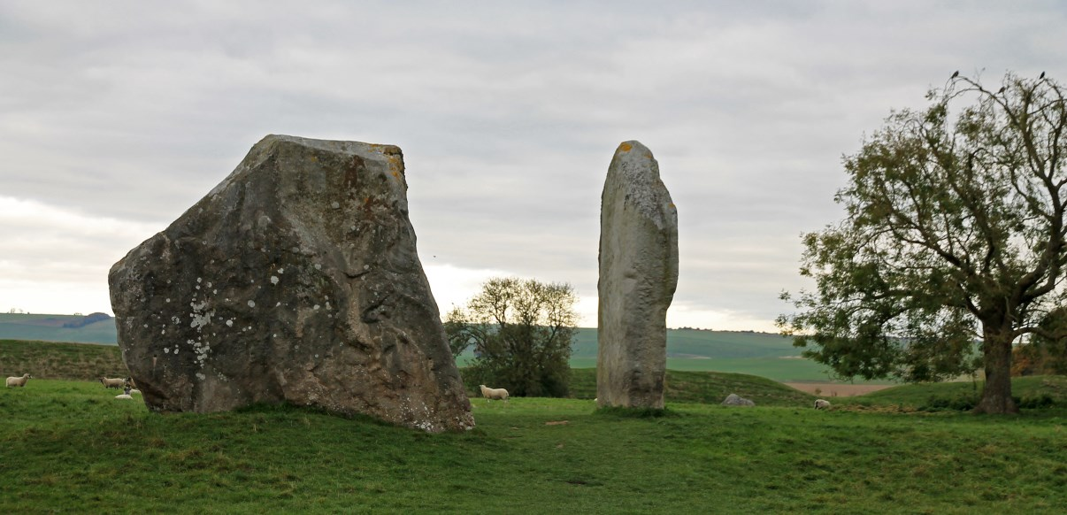 "The two stones of ""The Cove""."