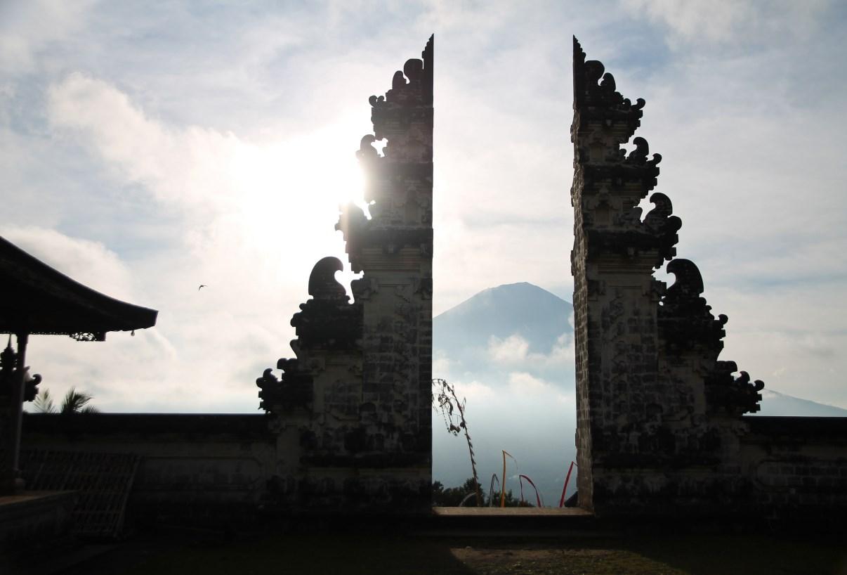 Mount Agung.