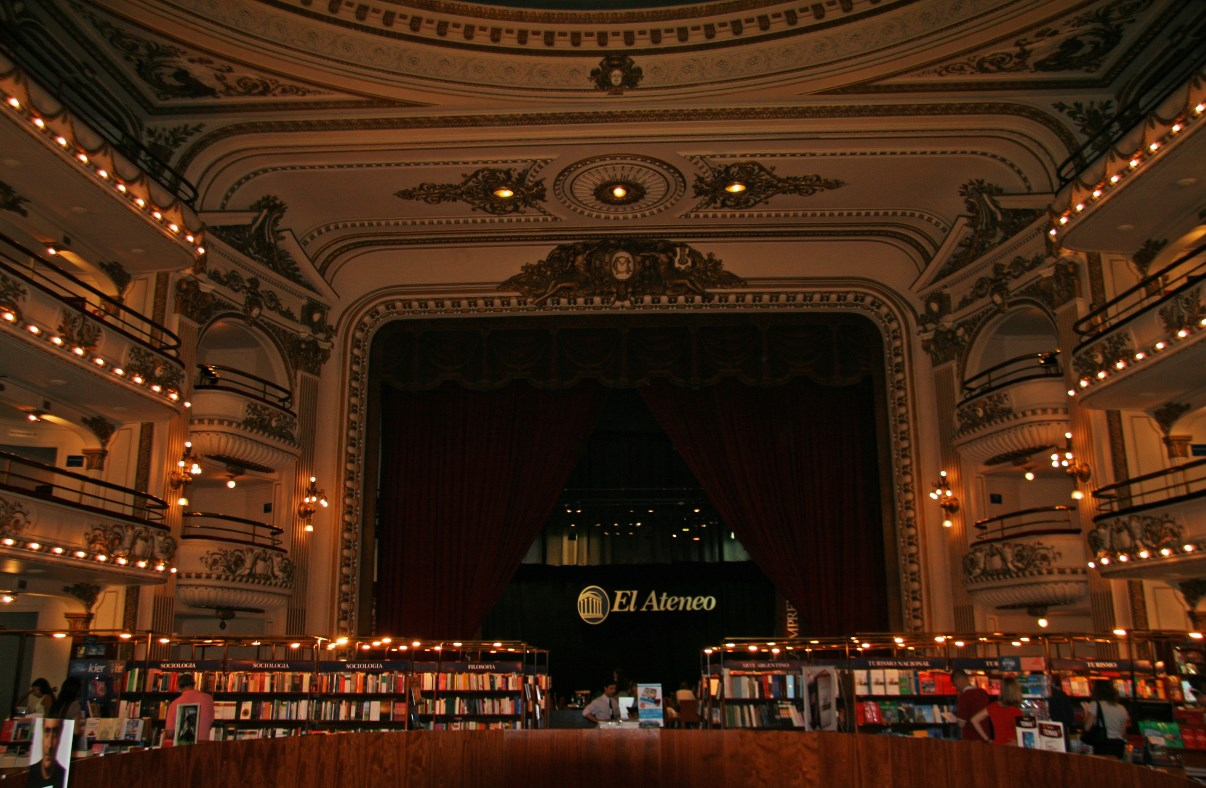 El Ateneo Grand Splendid, one of the most beautiful bookshops in the world!