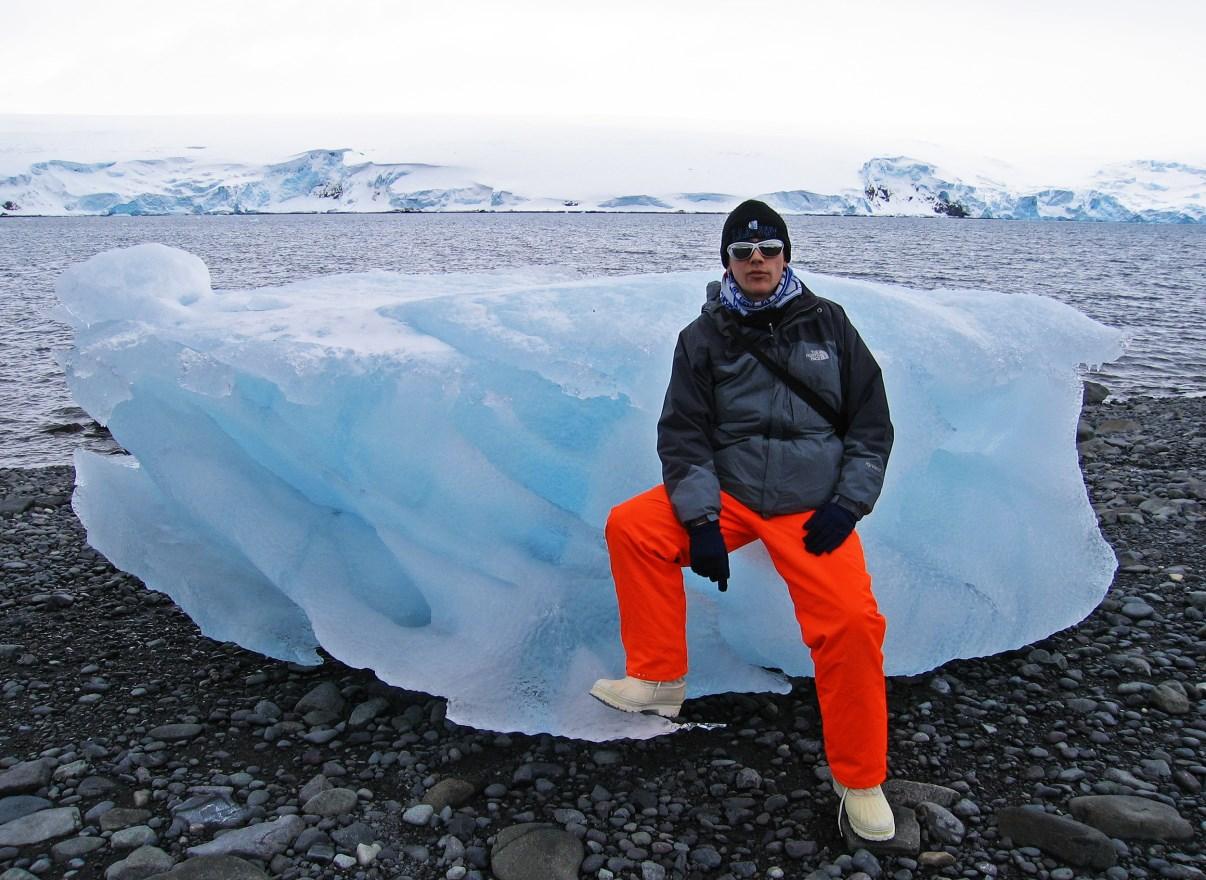 Beached iceberg.
