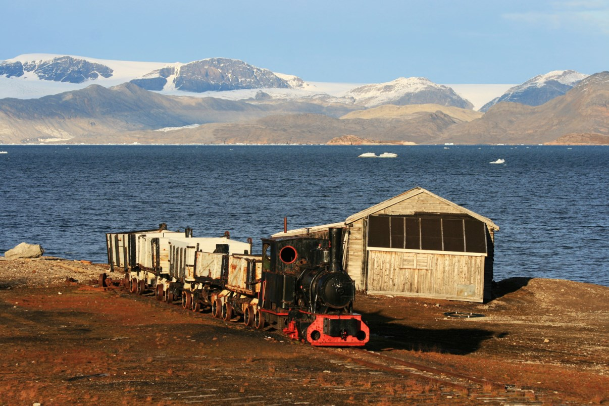 The train of Ny-Ålesund.