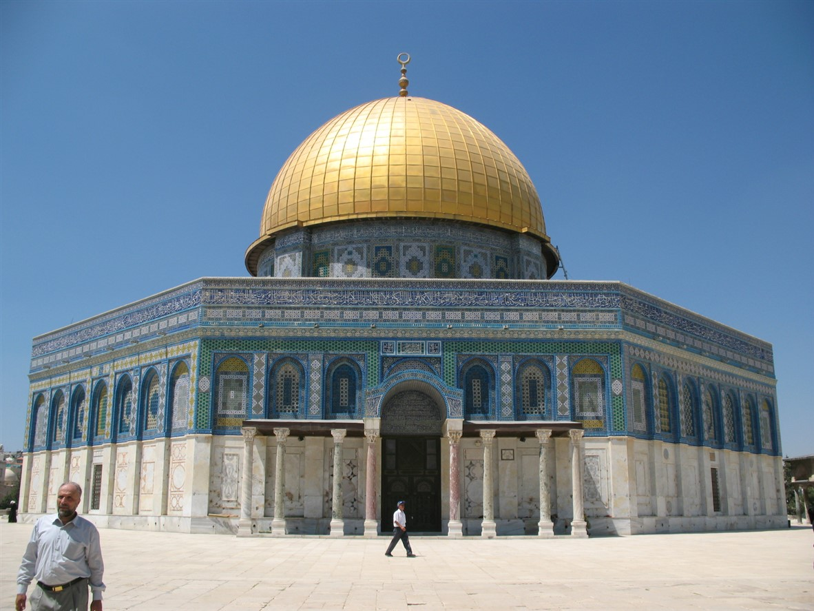 Dome of the Rock in the sun (2007).