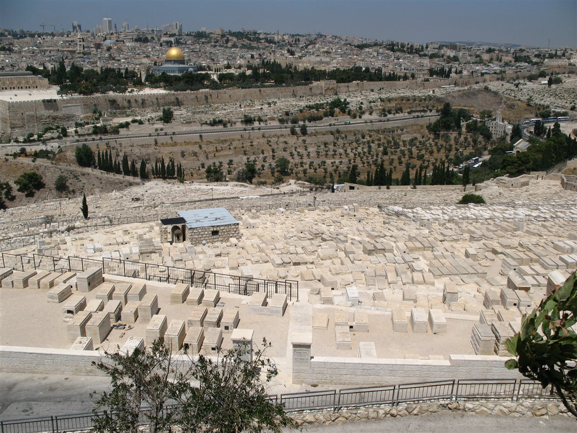 View from the Mount of Olives (2007).
