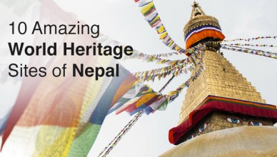 Cover Pic - World Heritage Sites of Nepal