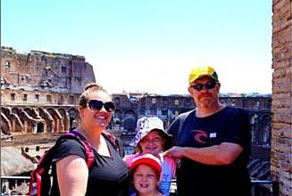 Traveling families: the Wyld family.